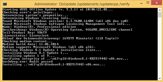 cara windows update manual secara offline dengan aplikasi